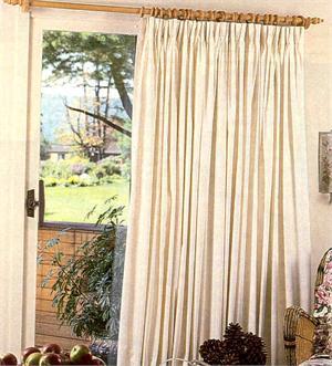 Custom Sliding Door Curtains