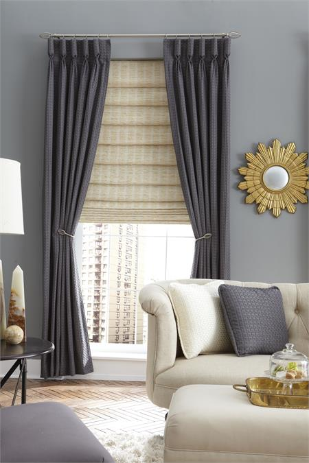 Custom Goblet Pleat Style Curtains Single Width Group1