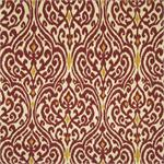 A8598 Harvest Ikat Damask Fabric