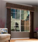 Averte Woven Woods Panels for window, patio doors or french door window treatment