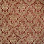 Antique Red Damask Fabric