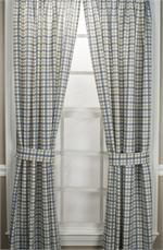 custom plaid curtains