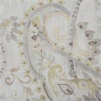 Cannes Paisley Celadon Swatch