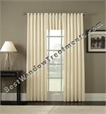 Custom Extra Wide Tab Top Curtain Panel