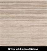 Grasscloth Blackout Natural