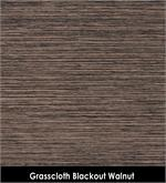 Grasscloth Blackout Walnut