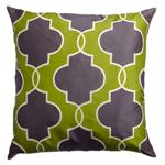 Lancelot Pillow in Chartreuse Green