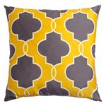 Lancelot Pillow in goldenrod
