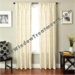 Medici Scroll  Curtain Drapery Panels