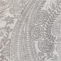 Milan Paisley Silver Swatch