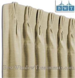 Pinch Pleated Drapes in Single Width Size