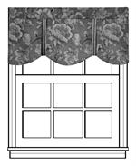 Royal Valance window topper