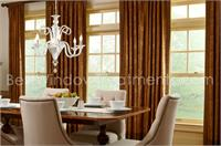 Custom Rod Pocket Drapery Panels Double Width Size Curtains