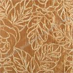 Sinhala Floral Brushed Gold