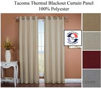 Tacoma Thermal Blackout Curtain Panel In 4 Colors