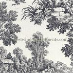 Victorian Toile in Black