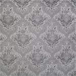 Gunmetal Damask Fabric