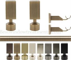 Empire Brass curtain rod