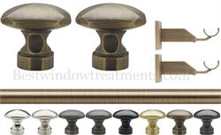 Landover Curtain Rod Set