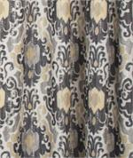Tuscany Medallion Fabric in black