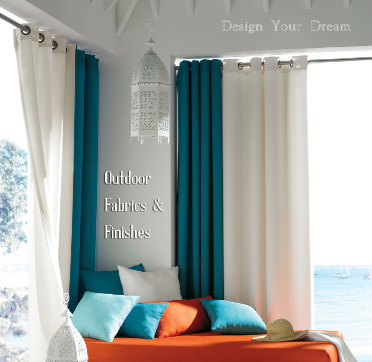 Shop Outdoor Sunbrella Curtains and Drapery Hardware