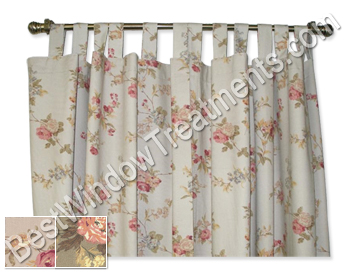 details rod deconovo blackout pocket com tab back curtain dp ttw curtains and insulated product darkening amazon