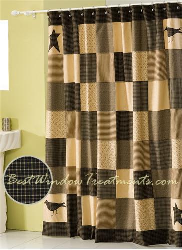 Kettle Plaid Shower Curtains