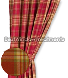Cedar Park Plaid Drapery Panels