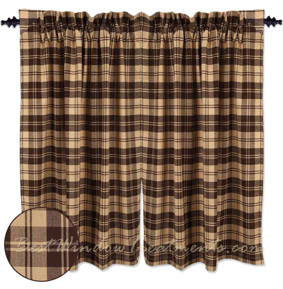 ordinary Brown Tier Curtains Part - 13: BestWindowTreatments.com