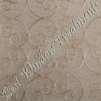 Caspia Wheat Fabric Swatch Sample