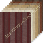 Leno Stripe Sheer Curtain samples
