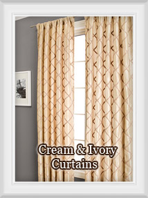 Shop for Ivory, Cream, Natural, Linen colors for Curtains & Drapes