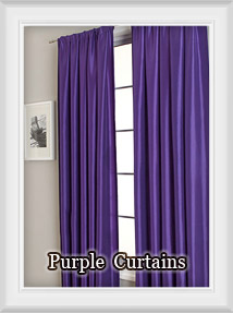 Shop Purple, Aubergine, Lilac, Lavender to Plum Curtains